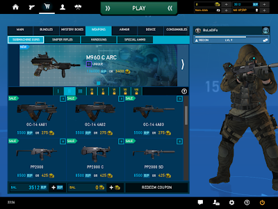 Ghost Recon Online - Weapons On Sale