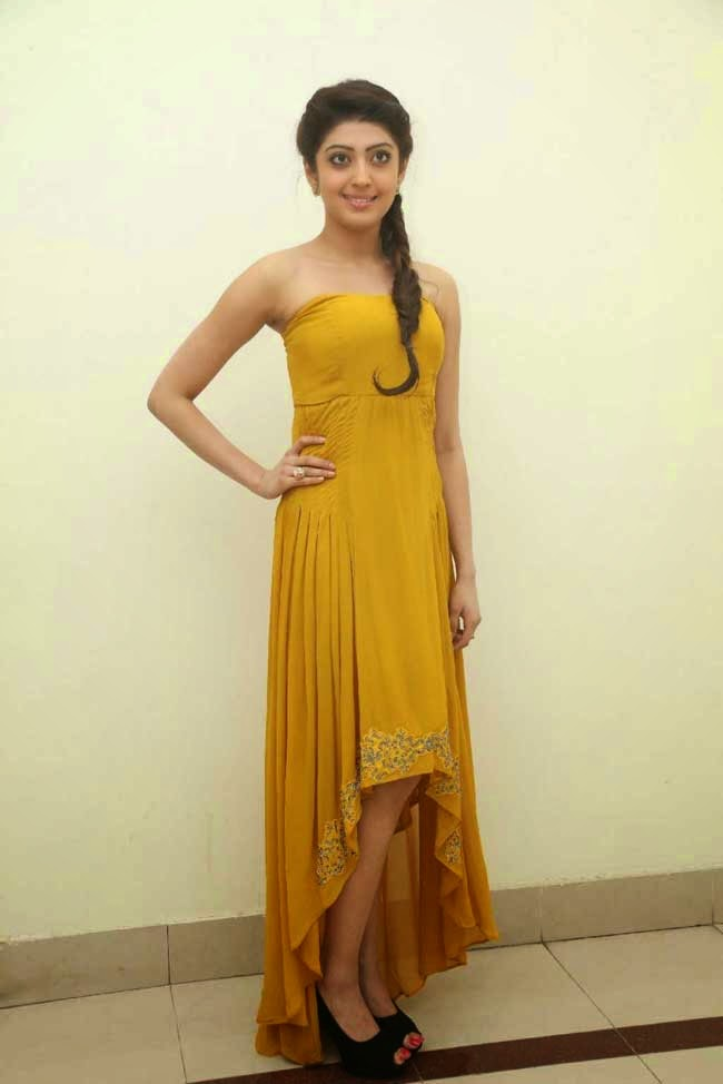Actress Pranitha In Strapless Gown