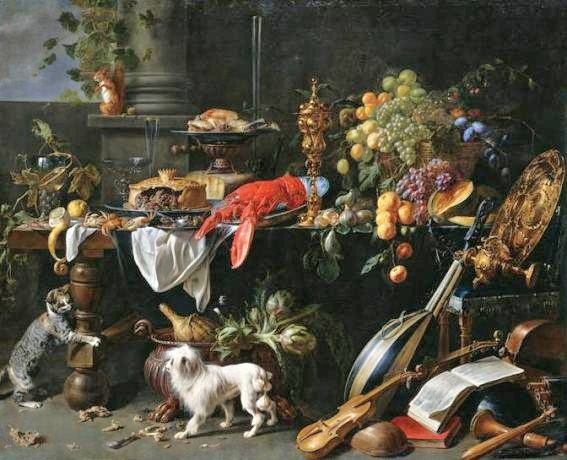 It 39 s about time inadvertently sharing the harvest 1600s for Baroque lifestyle