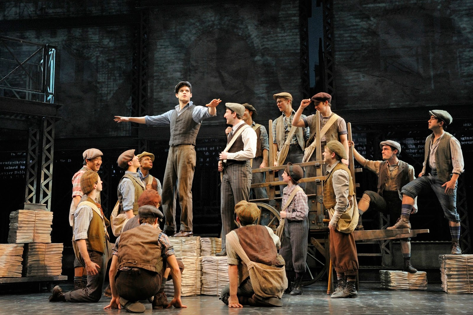 """the newsies Newsies hot off the press aug 17-26 come see the highly anticipated """" newsies"""" at steel river playhouse directed/choreographed by dann dunn and ."""