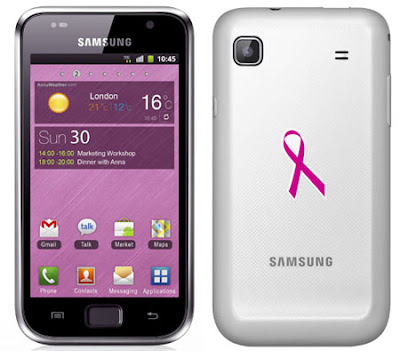 new Samsung Galaxy S Plus And Chat 335 Pink Ribbon