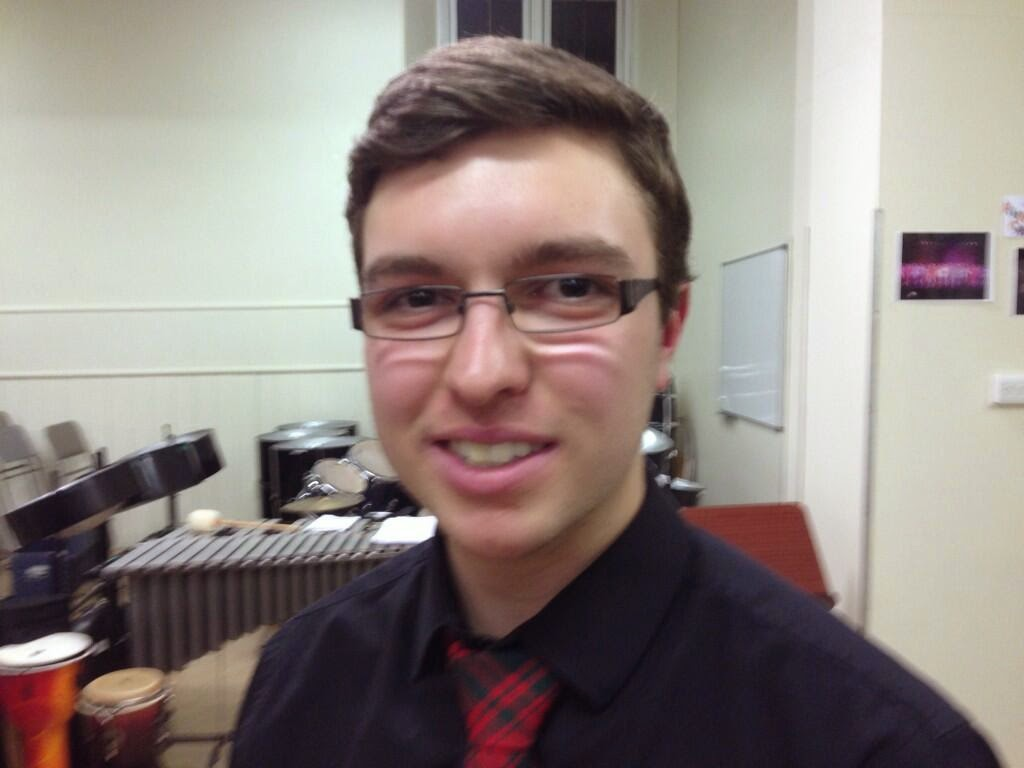 Ian Christie Menziehill High School Dundee Musician of the Year 2014
