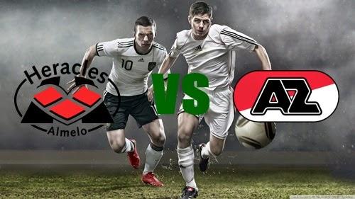 Prediksi Skor Terjitu Heracles vs AZ Alkmaar jadwal 10 agustus 2014