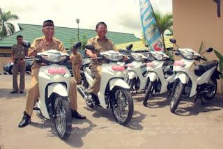 PT Bumida Kaltim Sumbang 10 Motor Ambulance Untuk Oprasional Kesehatan
