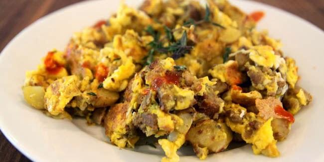 Resep Cara Membuat Orak-arik Telur Jamur Paling Mudah
