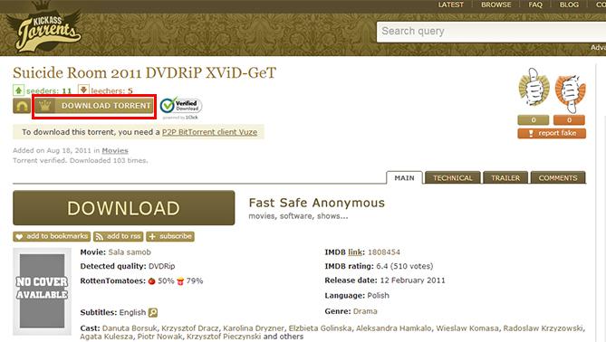 room torrent download