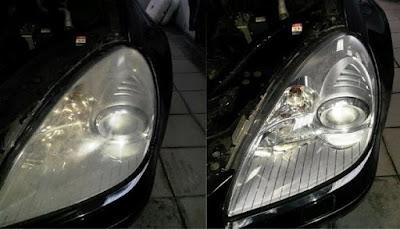 Ένας πρακτικός και εύκολος τρόπος να καθαρίσετε τα θαμπά φανάρια του αυτοκινήτου σας