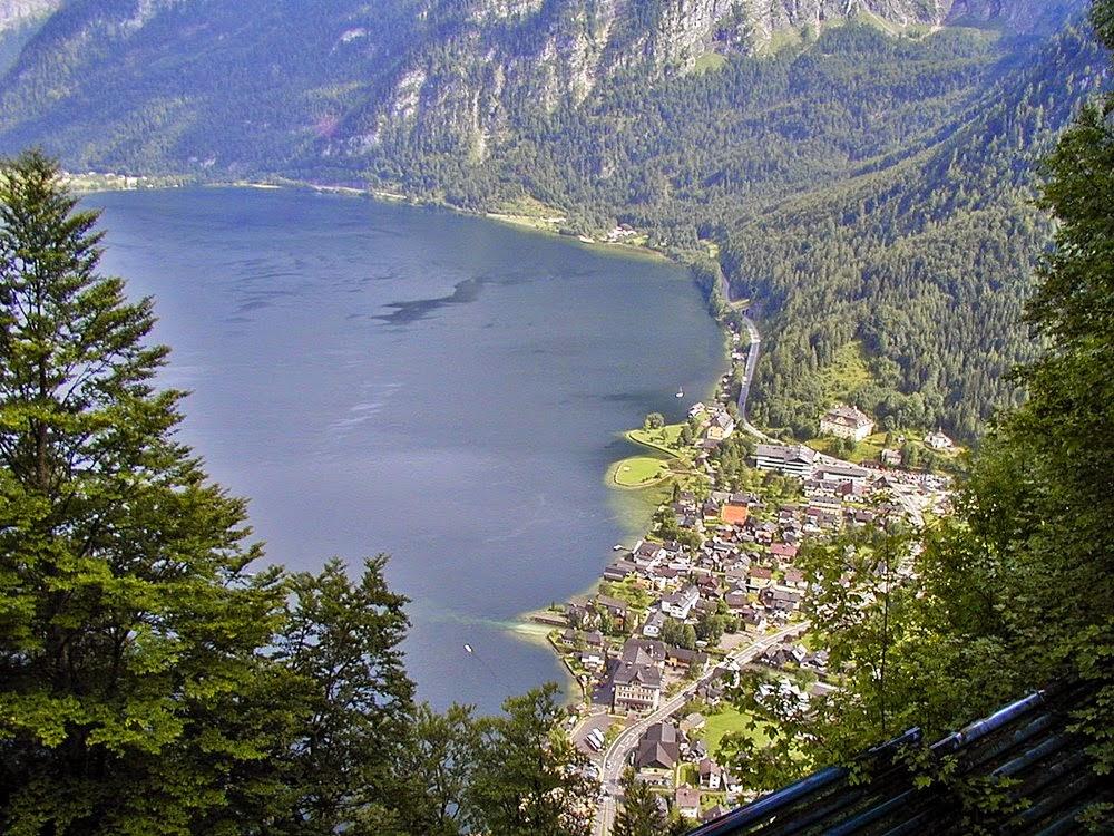 Hallstatt im Salzkammergut in Österreich, Sehenswürdigkeiten und Attraktionen