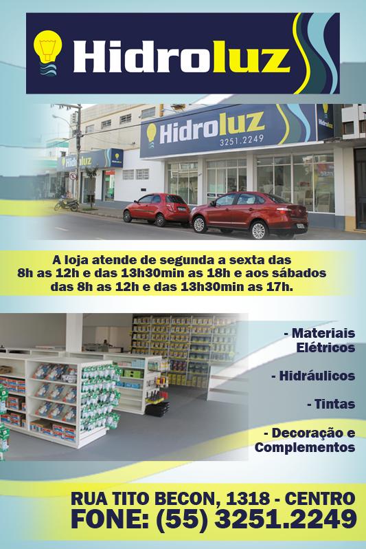 Novidade em Santiago: Hidroluz!