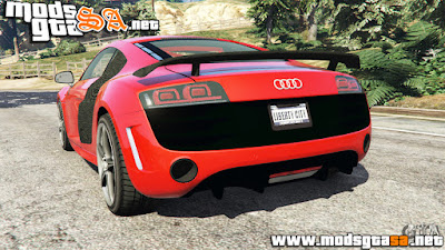 V - Audi R8 GT 2011 v0.5 [Beta] para GTA V PC