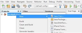 create java class