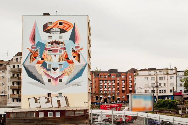 Street Art By Low Bros In Germany For CityLeaks Urban Art Festival. 9