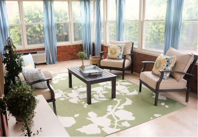 Sunroom Decorating on a Budget
