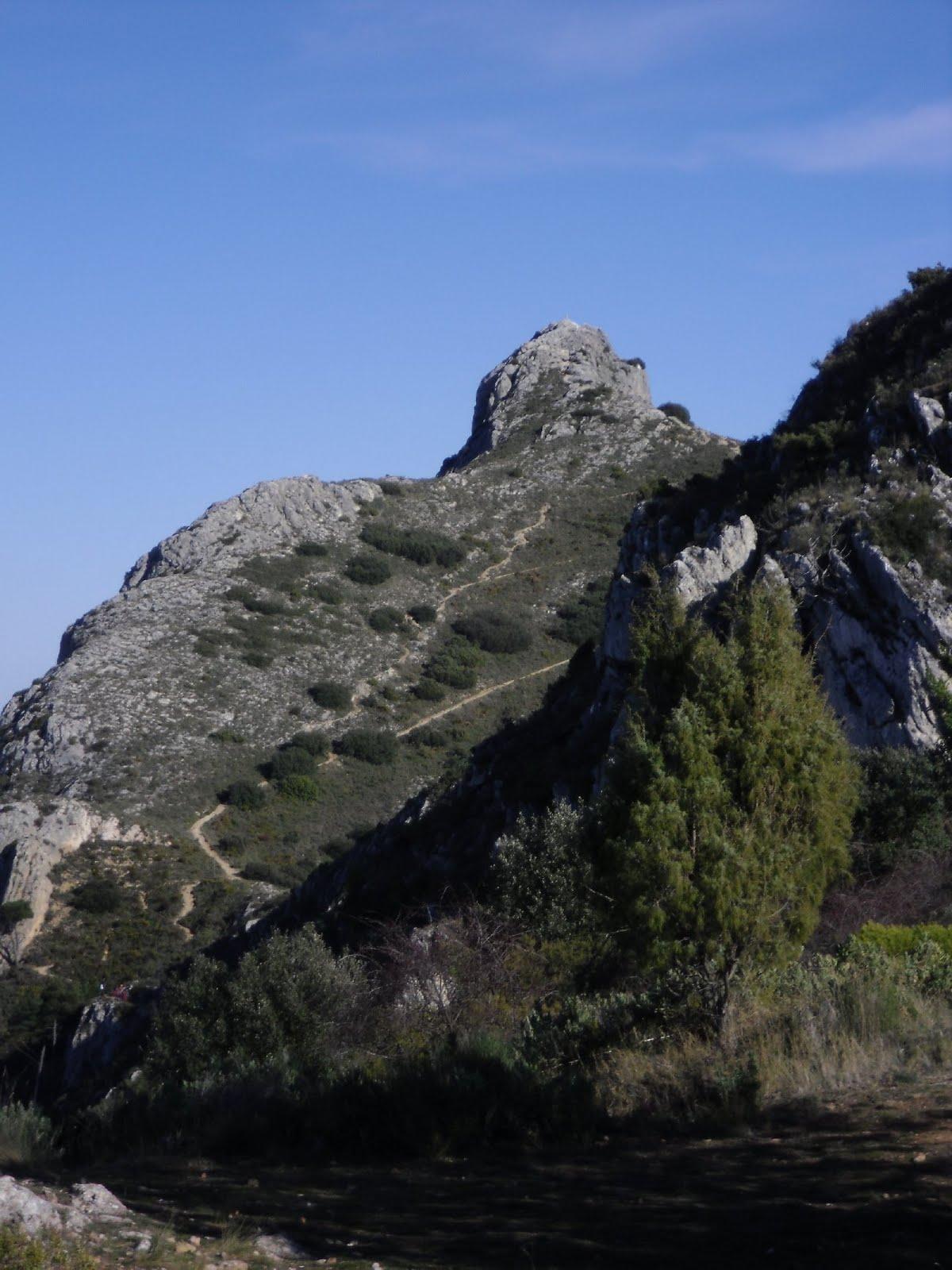 Sender del cim del Benicadell