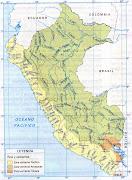MAPA HIDROGRÁFICO DEL PERÚ: MAPA POLITICO DEL PERU: (copia de escanear )
