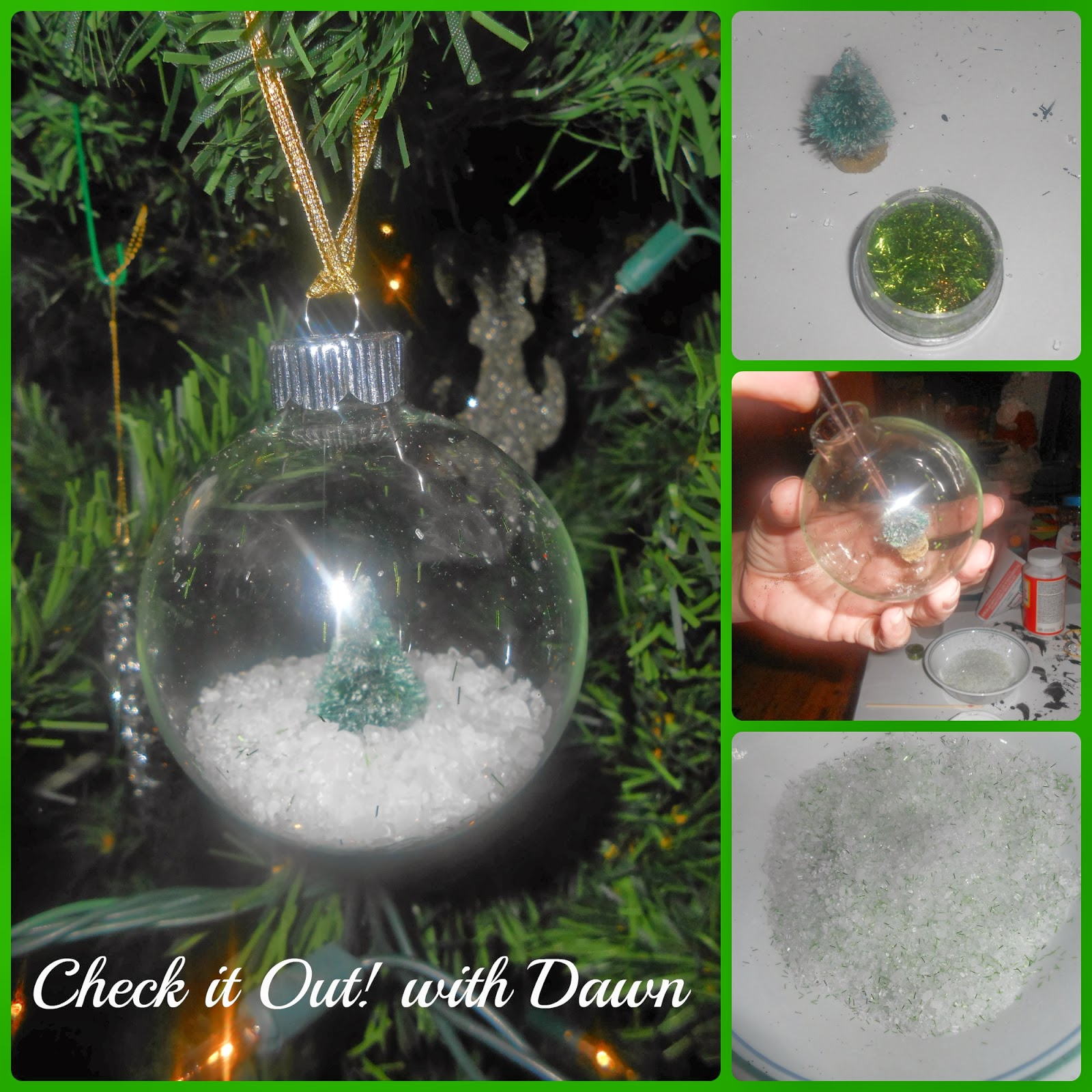 Check it out with dawn tbccrafters craft hop clear for Clear ornament craft ideas