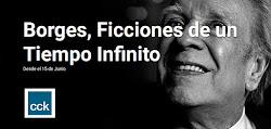 Orquídeo Maidana en la gran Muestra de Homenaje a Jorge Luis Borges