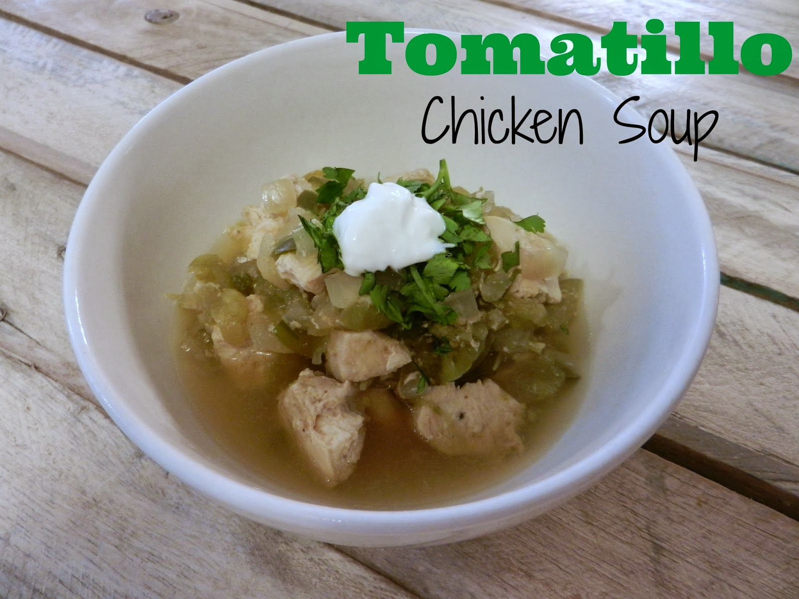 Tomatillo Chicken Recipe — Dishmaps