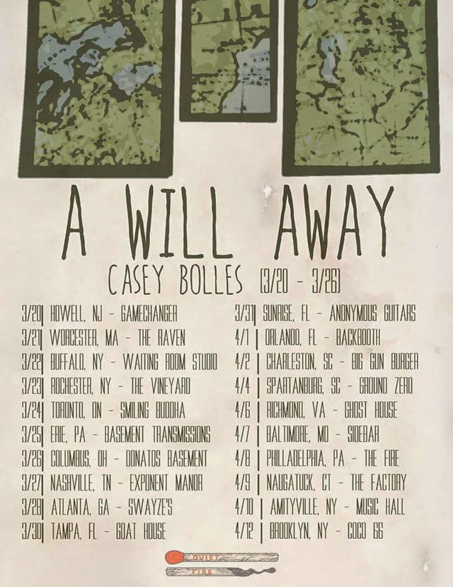 A Will Away/ Casey Bolles