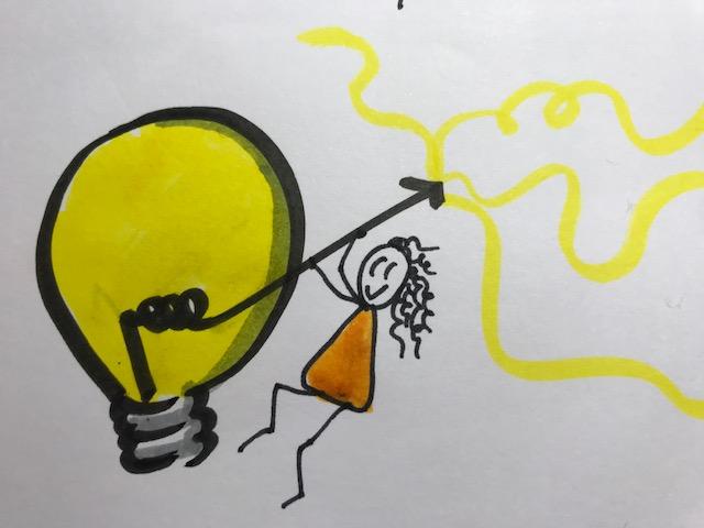jugando con la creatividad