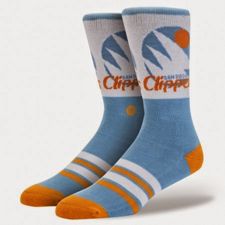 Los Angeles Clippers NBA Socks