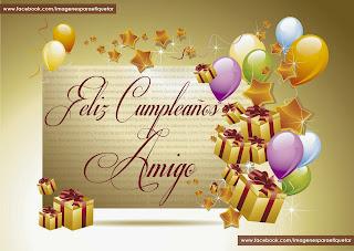 Frases Para Cumpleaños: Feliz Cumpleaños Amigo