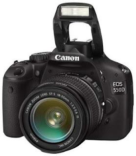 Spesifikasi Harga Canon EOS 550D Kit1