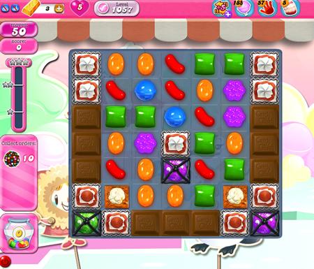 Candy Crush Saga 1057