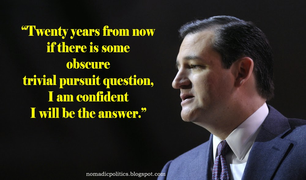 Ted Cruz Quotes Interesting Tea Party's Ted Cruz Is Confident He Will Be The Answer  Nomadic