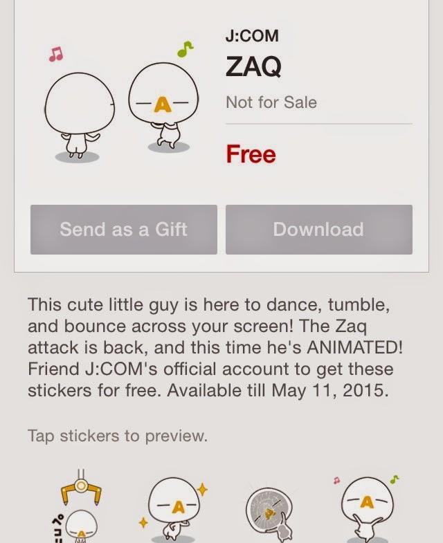 ZAQ sticker