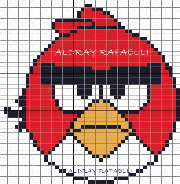 Angry birds схема вязания