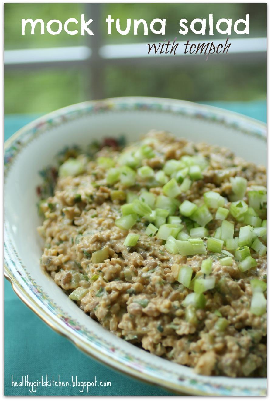 Mock Tuna Salad-Three Ways - Healthy Girl's Kitchen