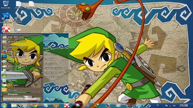 [ Theme Win 7 ] Legend Of Zelda 1
