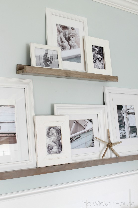 Gallery Wall Picture Ledges