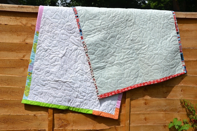 Baby quilt backs