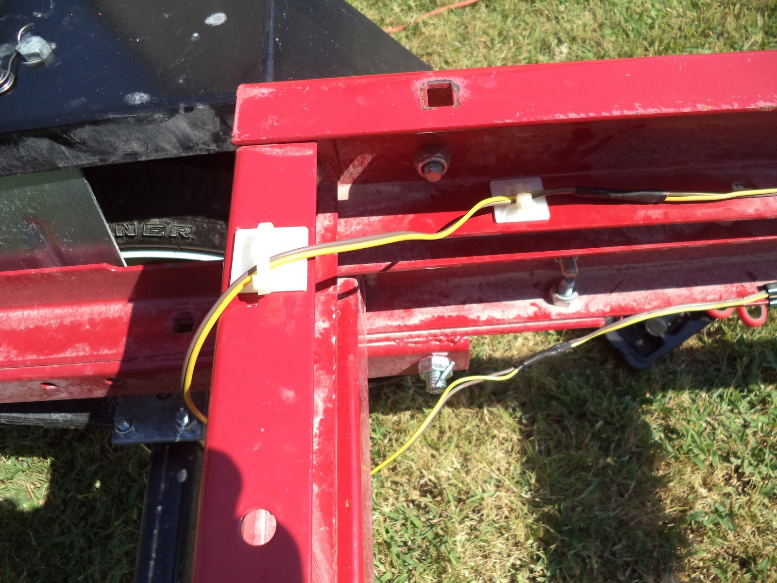 Tear It Up  Fix It  Repeat  Harbor Freight Folding Trailer