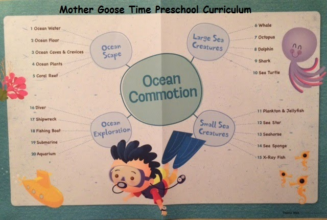 Mother Goose Time Whale Octopus Dolphin on Letter Of The Week Crafts For Preschoolers