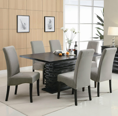 Modern Dining Room Table Decor