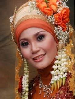 hijab pengantin muslimah