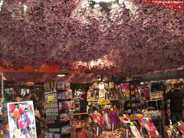 Mercato dei fiori ad Amsterdam