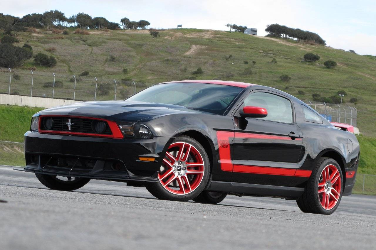 automobile trendz 2012 ford mustang boss 302. Black Bedroom Furniture Sets. Home Design Ideas