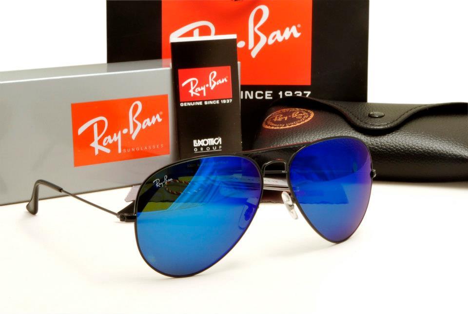 ray ban iridium lens