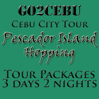 Cebu City + Pescador Island Hopping In Cebu Tour Itinerary 3 Days 2 Nights Package