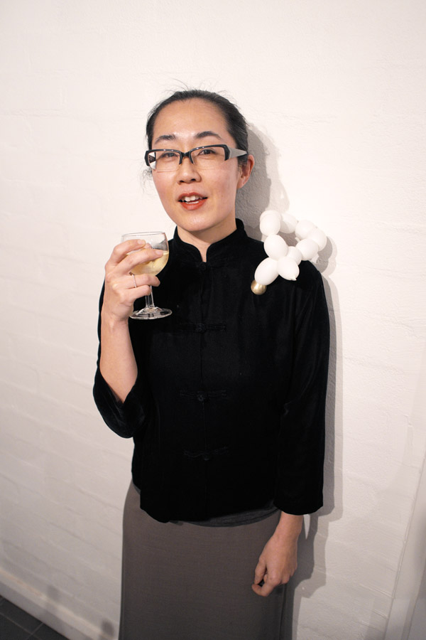 Kaoru Rogers artist portrait, tenmoregirls - glory box - Sydney 2012, Fujifilm X-Pro1