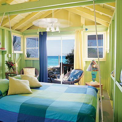 Blue Beach Bedroom Color Schemes