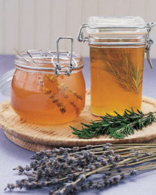 Herb Infused Honey