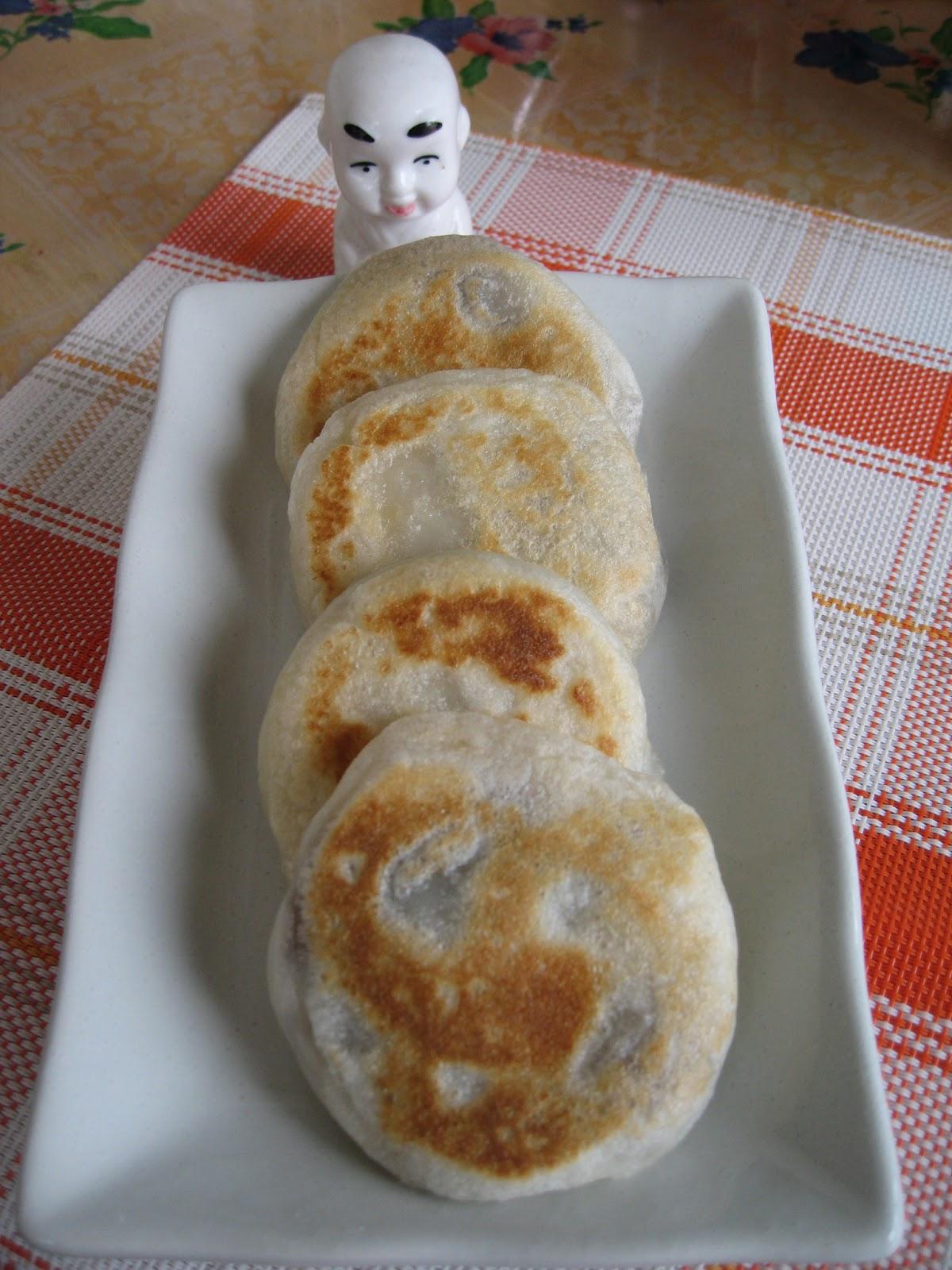 Sumptuous flavours pan fried glutinous rice cake pan fried glutinous rice cake ccuart Images