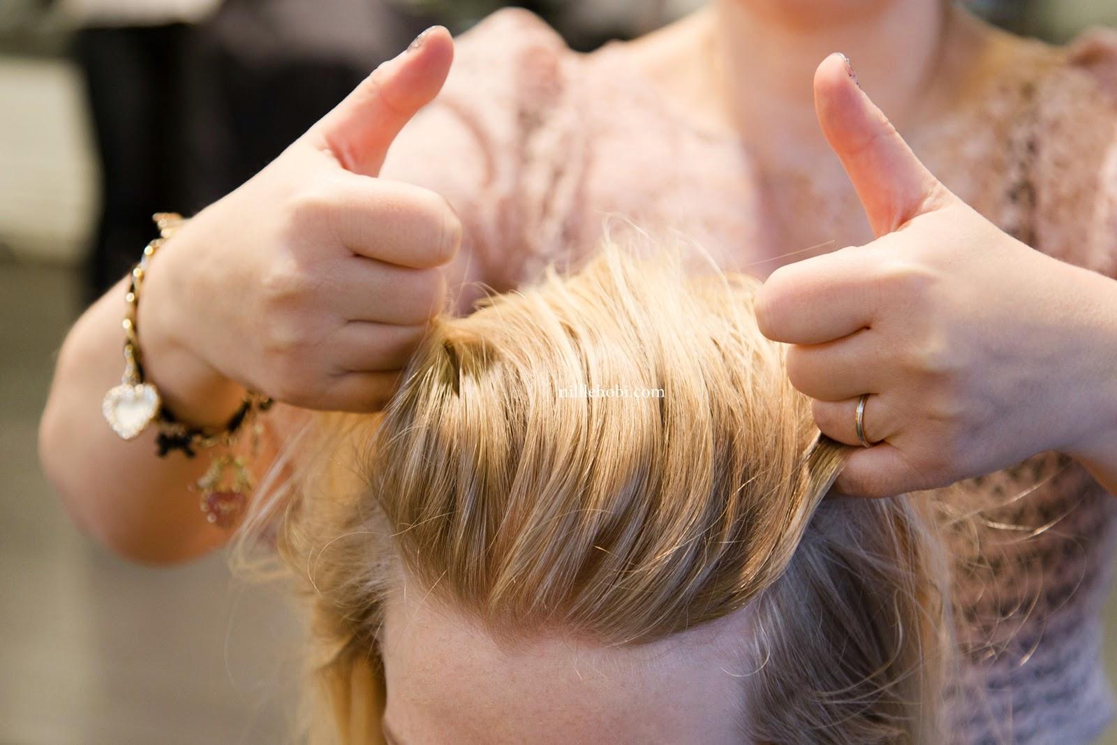 Çok Trend ve Pratik Saç Modeli Yapımı