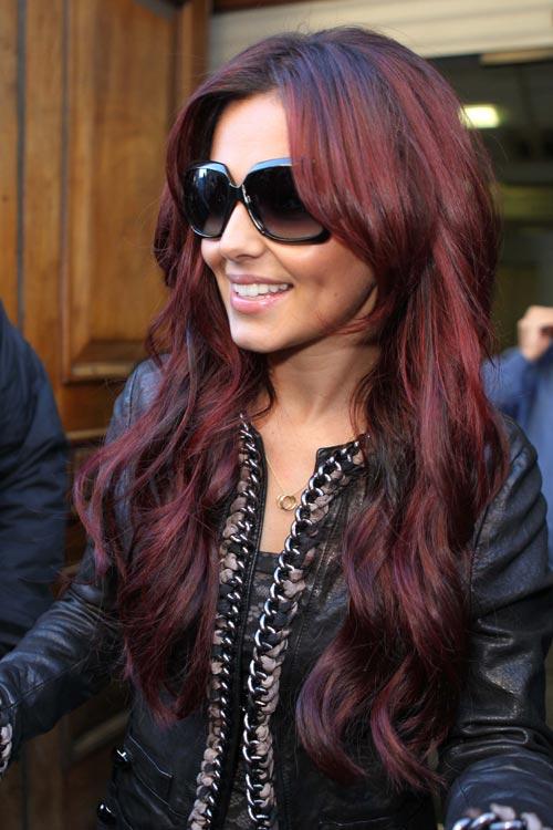 Couleur cheveux chatain rouge acajou