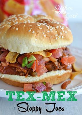 Tex Mex Sloppy Joes